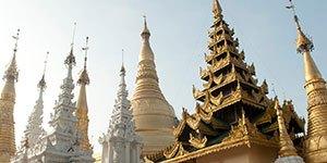 Custom Myanmar with Trek Travel bike tours.