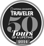 National Geographic Traveler awards Trek Travel 50 Tours of a Lifetime in 2014