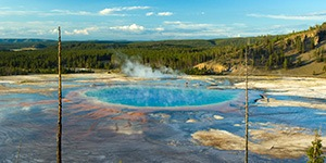 Yellowstone custom family bike vacations with Trek Travel