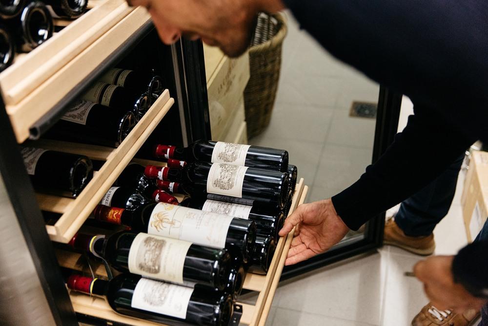 Fabian Cancellara Wine Collection