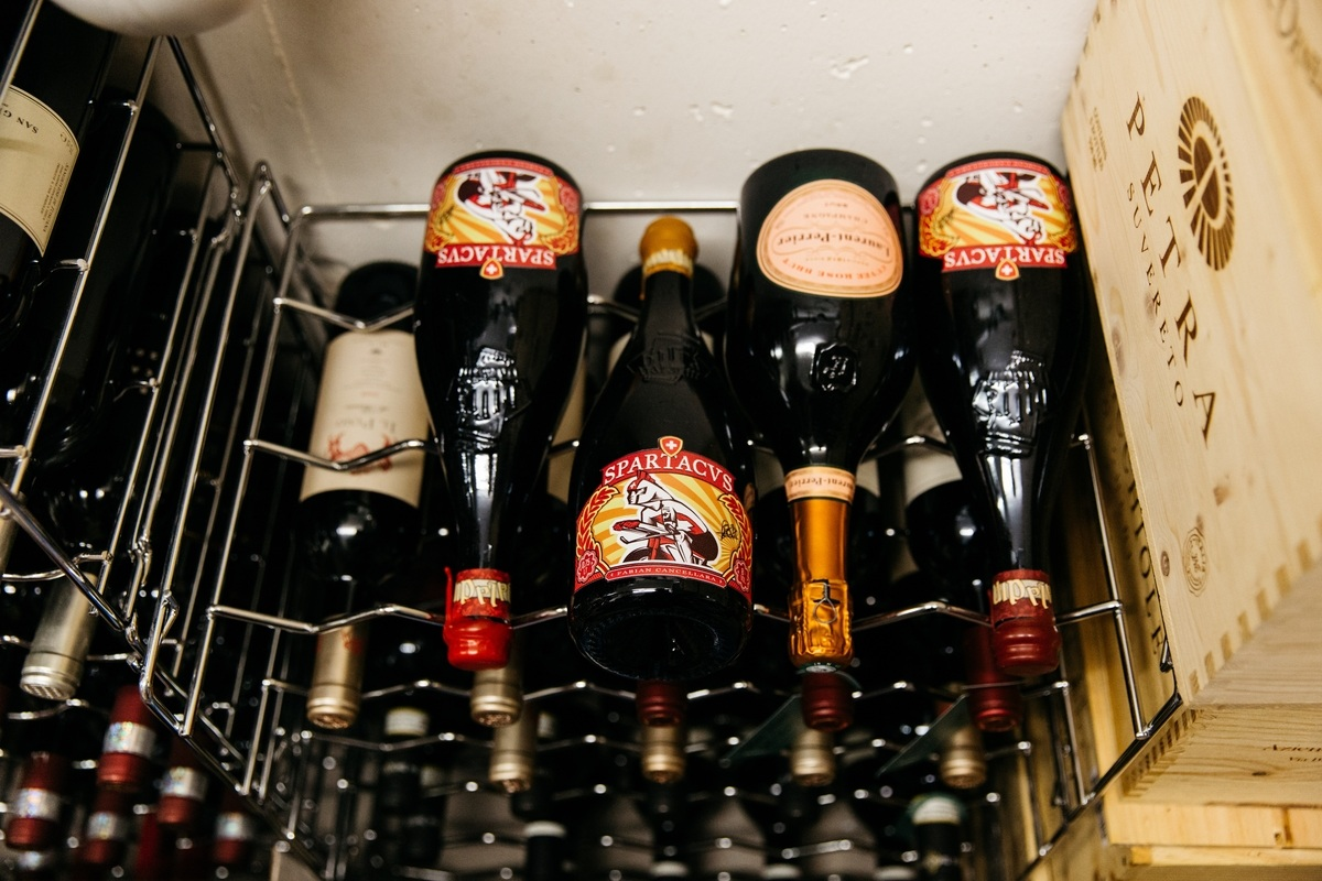 Fabian Cancellara Wine and Beer Collection