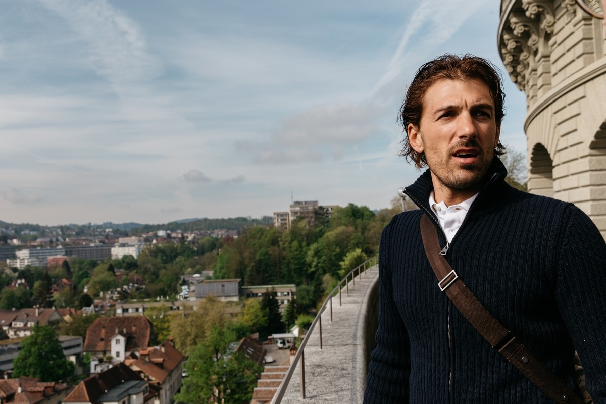 Fabian Cancellara at home in Switzerland