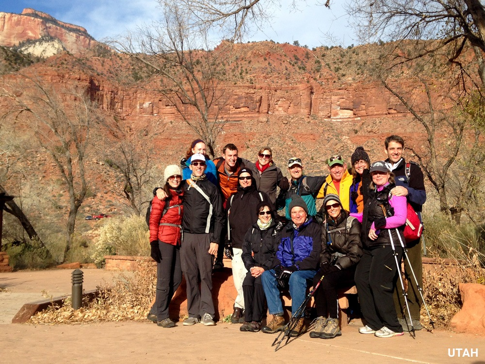 Dr Mark Timmerman on Trek Travel's Utah Bike Trip