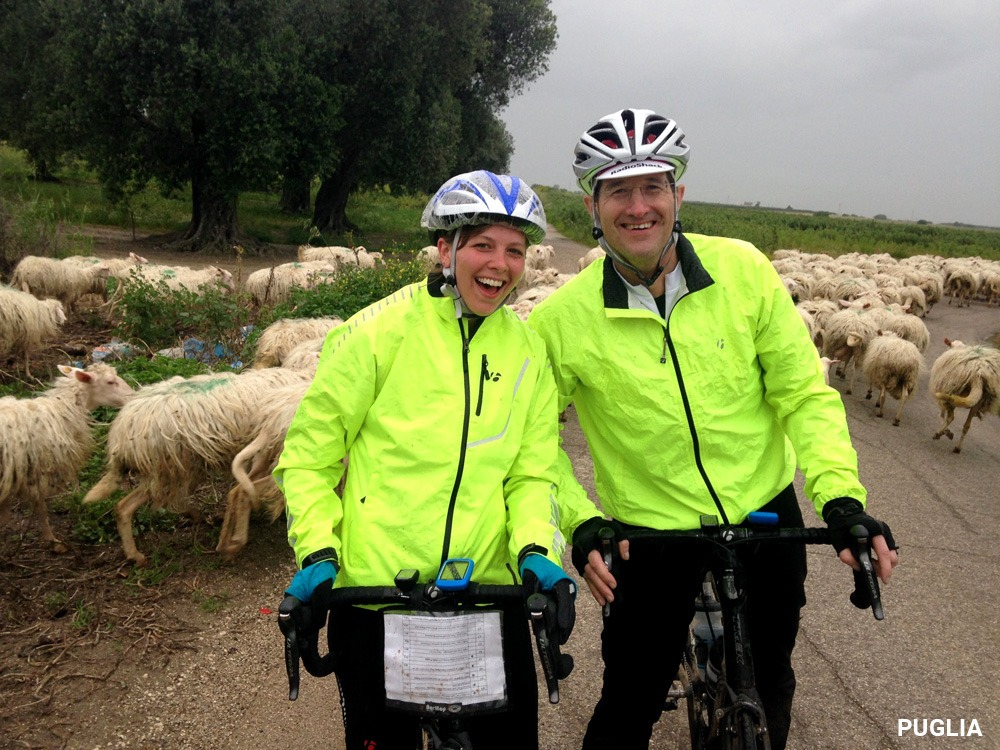 Dr Mark TImmerman on Trek Travel's Puglia Bike Trip