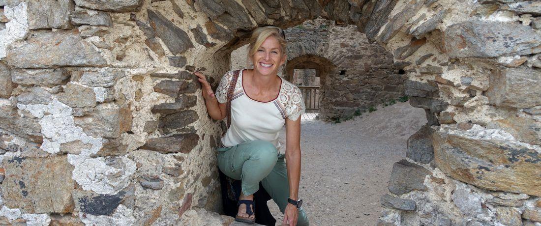 Meet Andrea Fair, Trek Travel bike tour guide