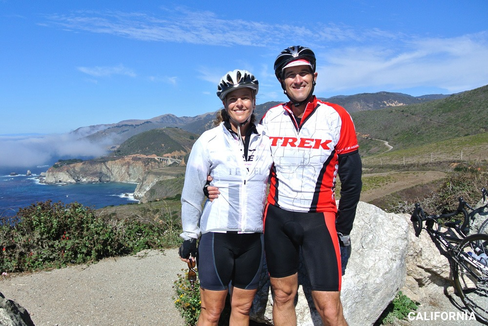 Dr Mark Timmerman on Trek Travel's California Coast Bike Trip