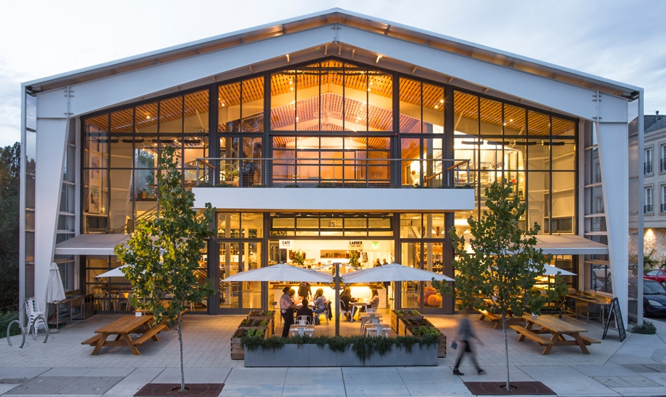 Visit Healdsburg SHED on Trek Travel's California Wine Country Luxury Bike tour