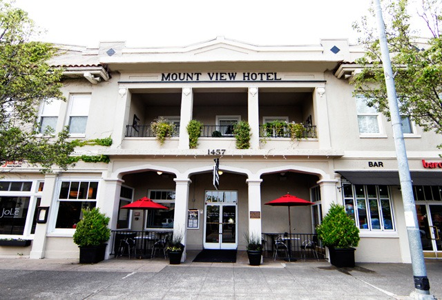 Jole Farm to Table at Mount View Hotel in Calistoga California