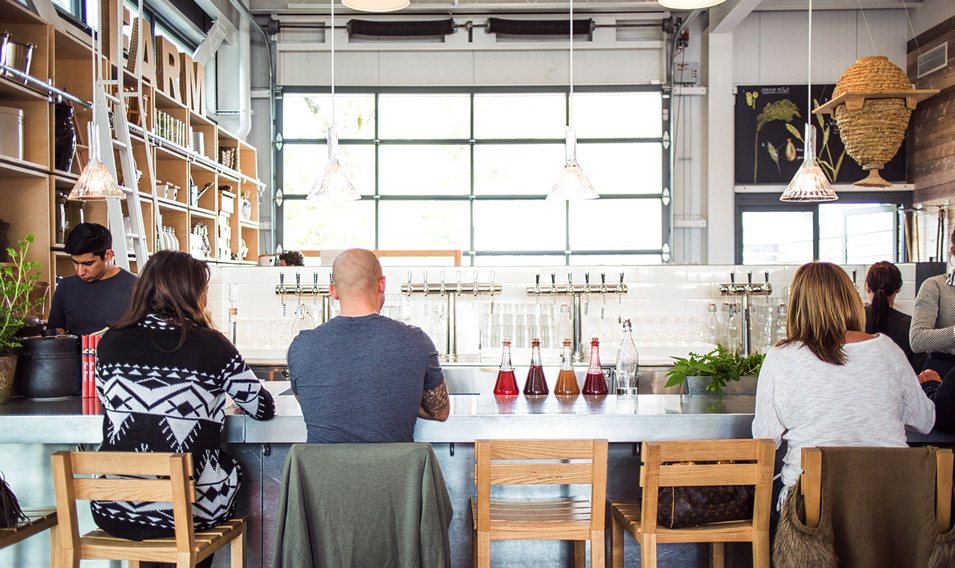 Experience a world-class fermentation bar at the Healdsburg SHED on Trek Travel's California Wine Country cycling vacation