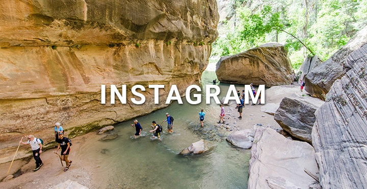Take me to Trek Travel's Instagram page