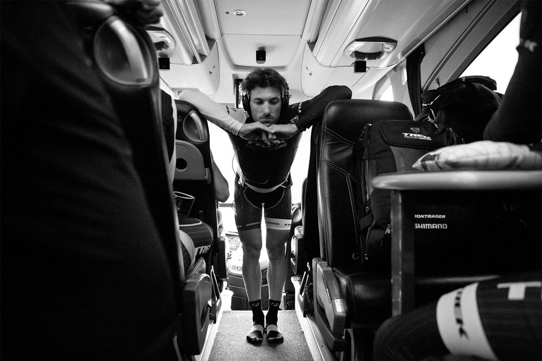 Professional Photographer Emily Maye captures Fabian Cancellara before the Tour of Flanders