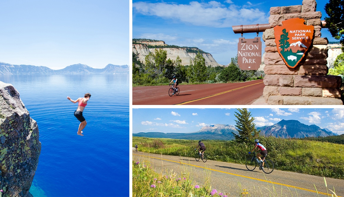 Visit a US National Park on a Trek Travel Cycling Vacation