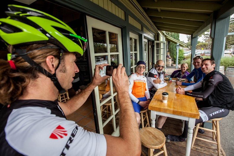 Legendary guide support on Trek Travel cycling vacations