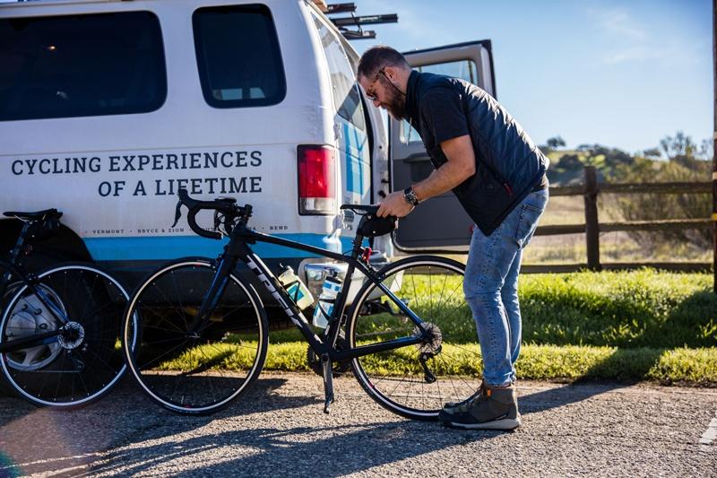 Exceptional Trek Travel bike tour guides