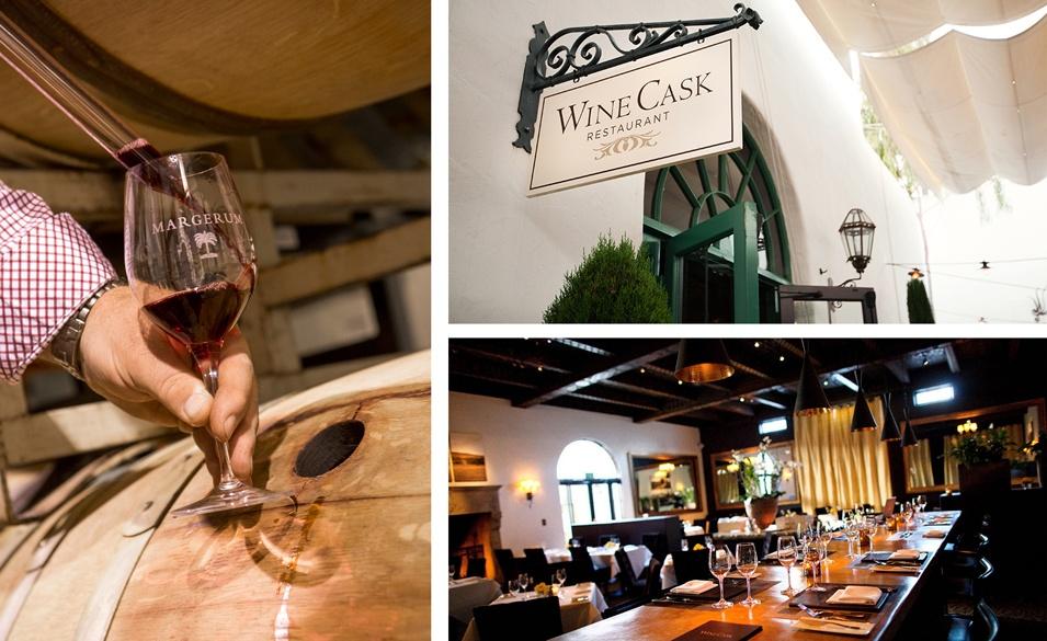Taste a handcrafted vintage at Santa Barbara's Wine Cask on Trek Travel bike tour