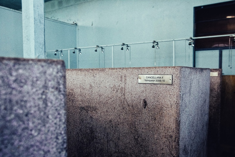 Trek Travel guests experienced the famous Roubaix showers