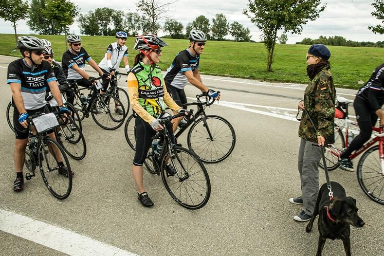 Cross the border from Czech to Austria on Trek Travel's Prague to Vienna bike tour