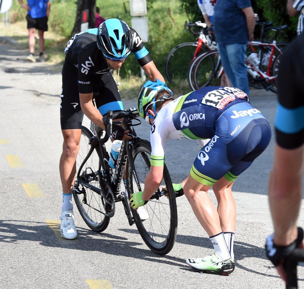 Graham Watson cycling photographer Giro d'Italia