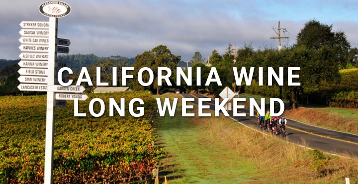 Trek Travel California Wine Country Long Weekend Cycling Vacation