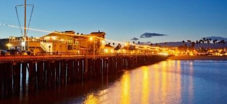Visit Sterns Wharf on Trek Travel's Santa Barbara California Bike Tour
