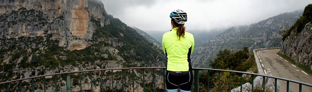 Plan for the weather on your cycling vacation
