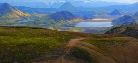 Explore Iceland on a Trek Travel mountain bike tour in Iceland