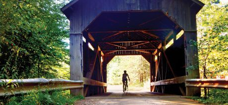 Travel to Vermont on a Vermont bike tour and cycling vacation