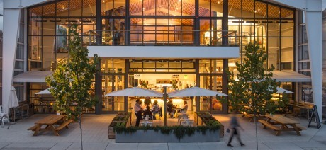 Eat at the Healdsburg Shed on Trek Travel's California Wine Country Cycling Vacation