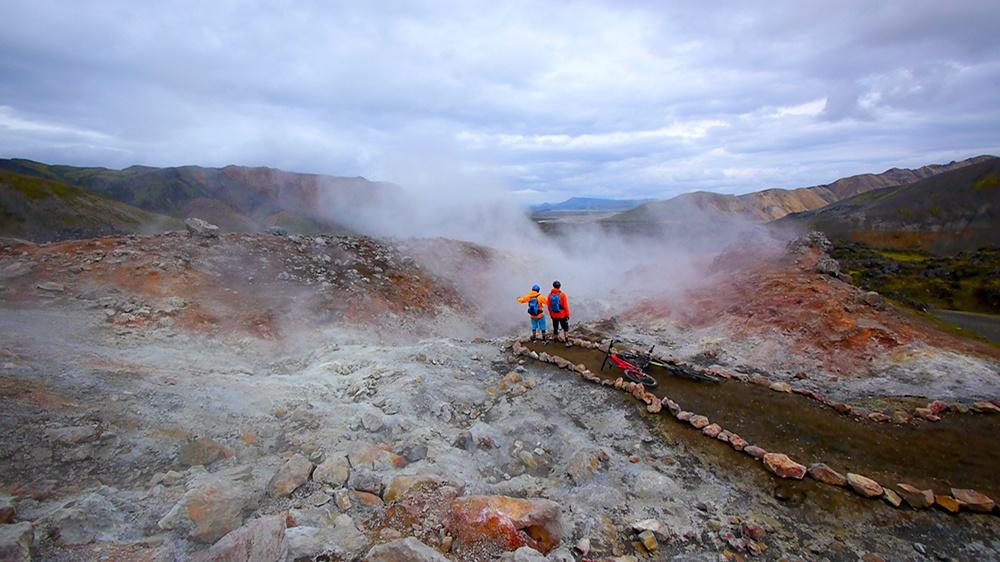 Trek Travel Iceland Mountain Bike Tour with Big Mountain Bike Adventures