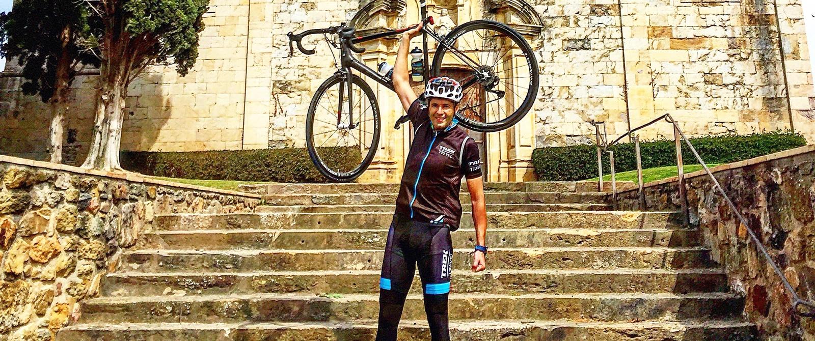 Meet Joaquin Gomez, bike tour guide for Trek Travel