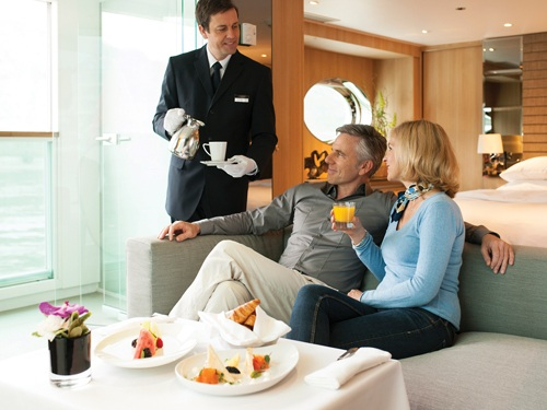 Impeccable service on board and on shore on our river cruise bike tour