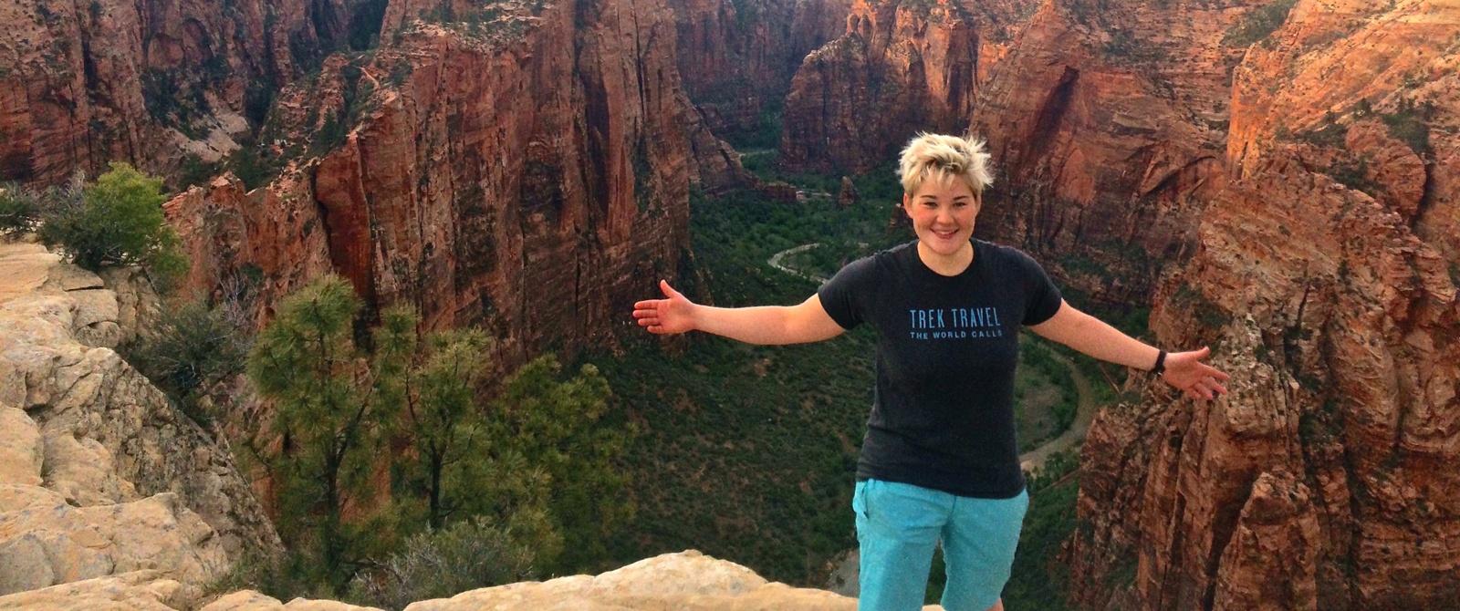 Meet Grace Heimsness, bike tour guide for Trek Travel
