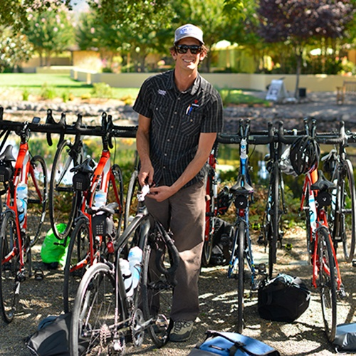 Tony Ferlisi, Trek Travel bike tour Guide