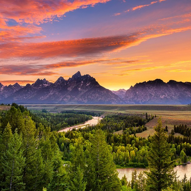 View full trip details for Yellowstone and Grand Tetons