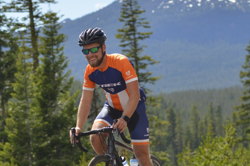 Grant Chaffin, Trek Travel bike tour guide