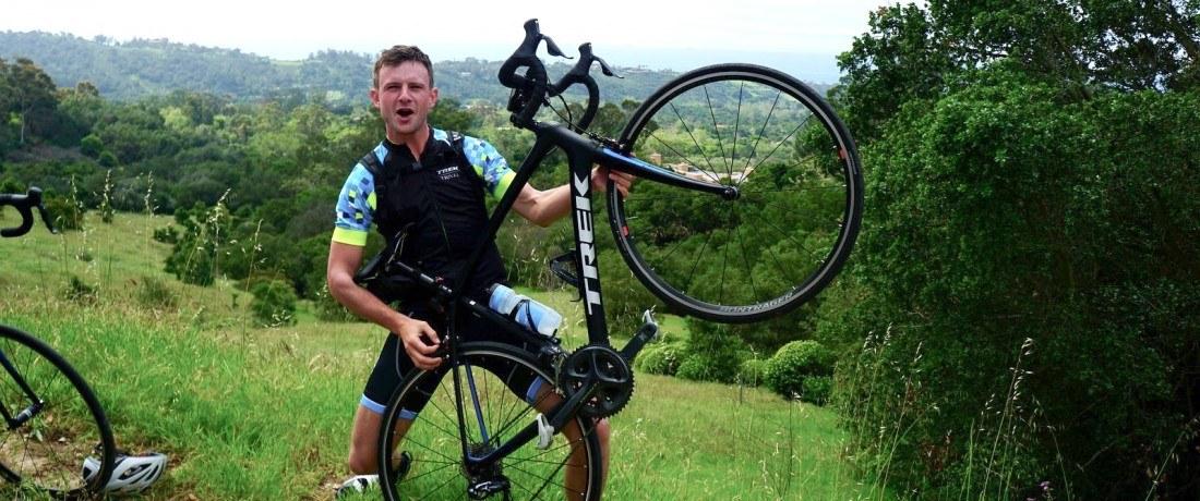 Meet Connor Brown, Trek Travel bike tour guide