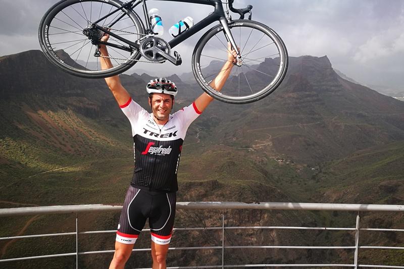 Joaquin Gomez, Trek Travel bike tour guides