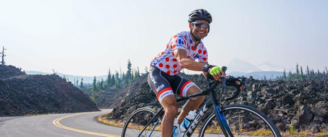 Meet Joji Calabro, Trek Travel bike tour guide