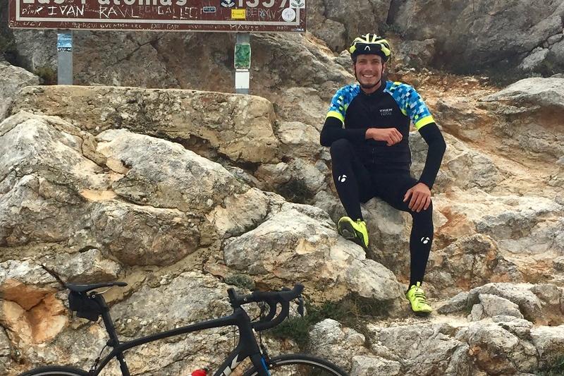 Stefano Lingua, Trek Travel bike tour guide