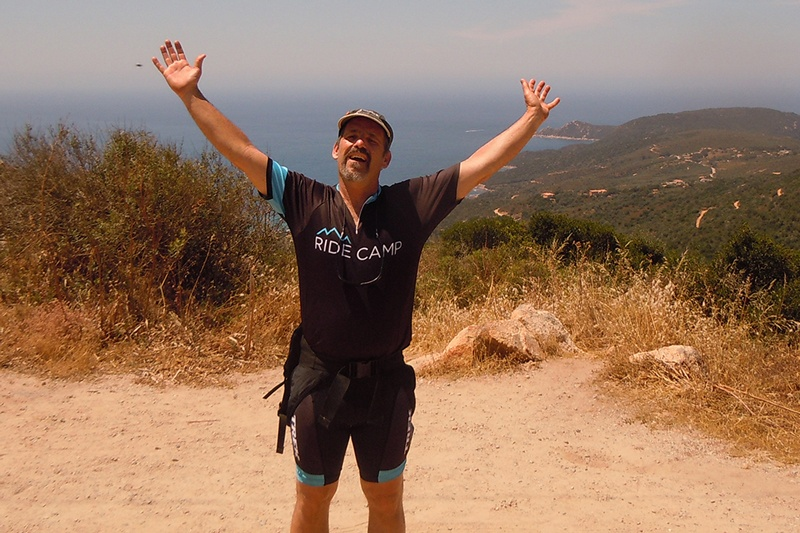 Daniel Frideger, Trek Travel bike tour guide