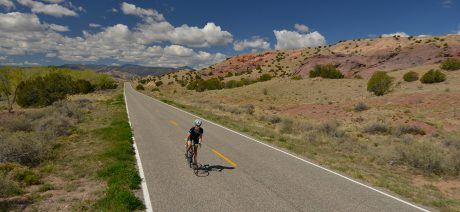 Ride along quiet roads perfect for bicycling in the heart of the Southwest