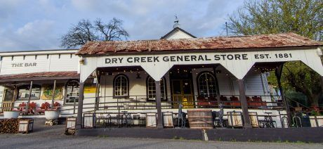 Visit the famed Dry Creek General Store on a California Wine Country bike tour with Trek Travel