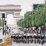 peloton racing on the Champs-Elysées  104th Tour de France 2017 Stage 21 - Montgeron › Paris (105km)