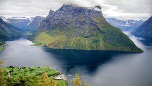 Fjords of Sogndal, Norway