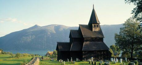 One of the remaining Stave churches of Norway