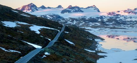 Norway-tourism-sognefjellet-pass