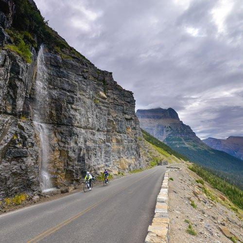 Glacier National Park Tour Trek Travel Cycling Vacations
