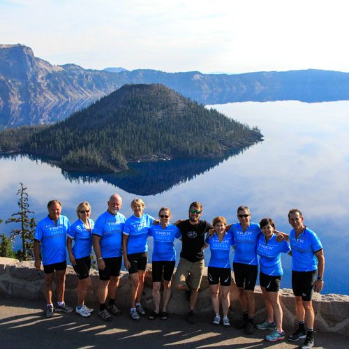 Trek Travel Crater Lake National Park Cycling Vacation