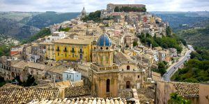 Ragusa Ibla on Sicily, Italy