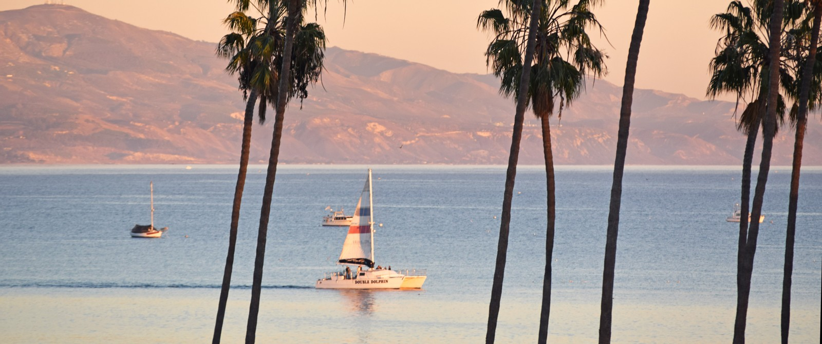 Santa Barbara Sailing on a Santa Barbara bike tour with Trek Travel